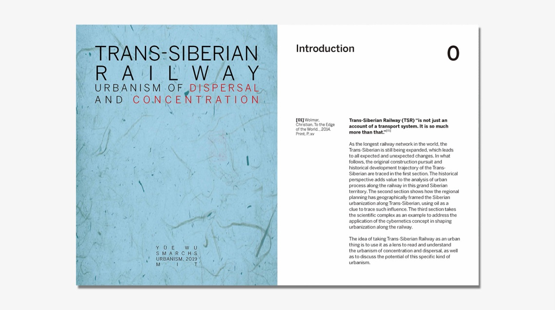 1. Trans-Siberian Railway, the urbanism of dispersal and concentration