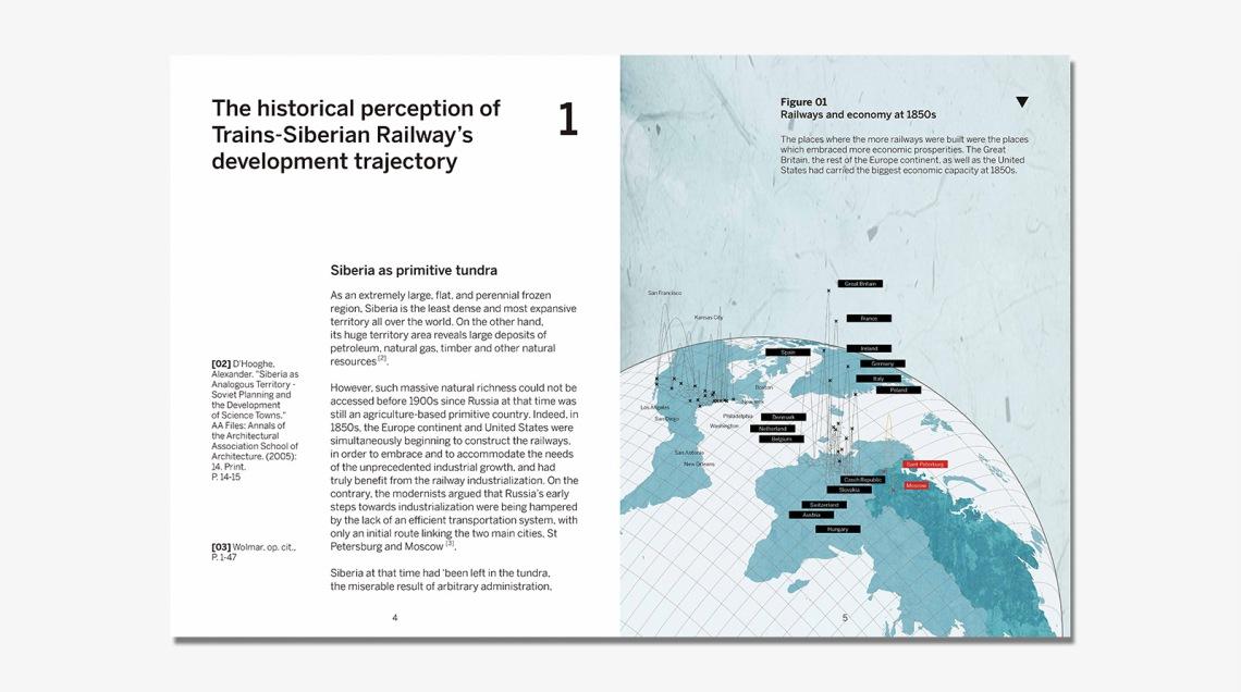 1.1 The historicalperception of the railwaydevelopment trajectory
