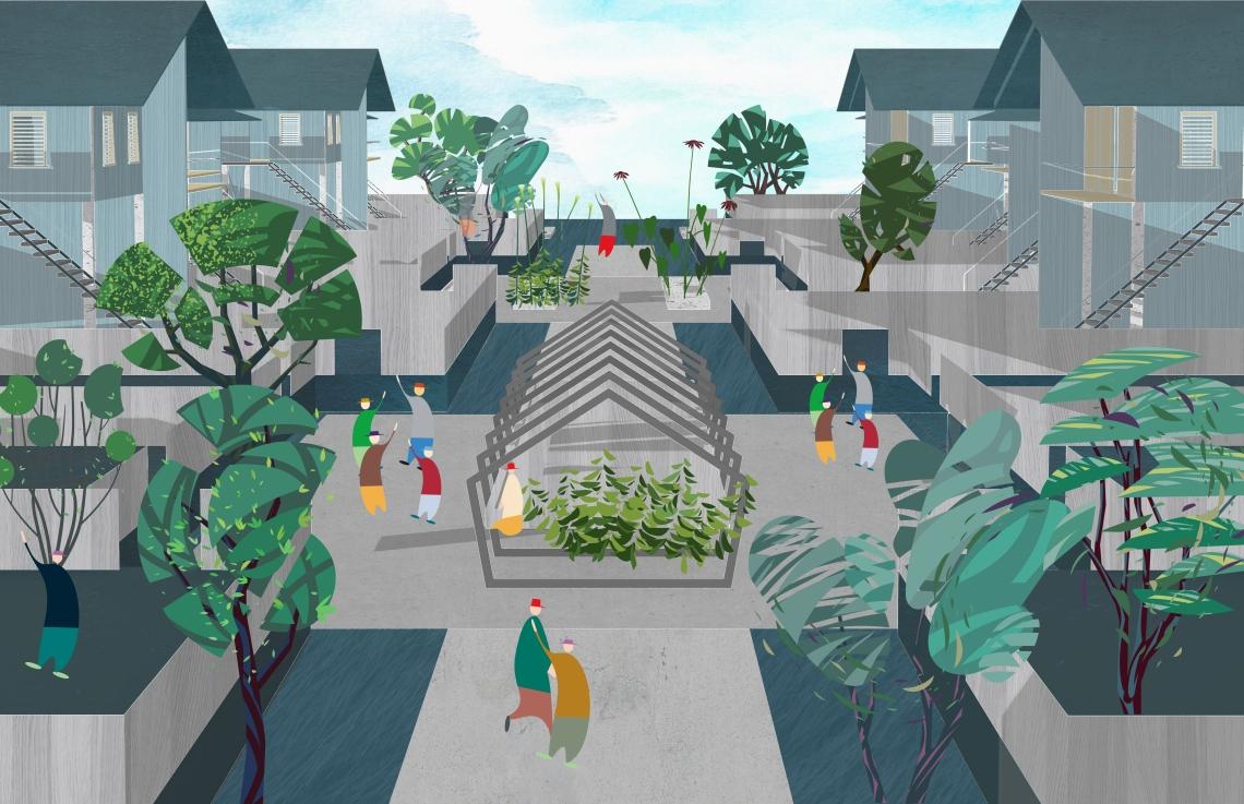 4. The scenario of Guyana: street
