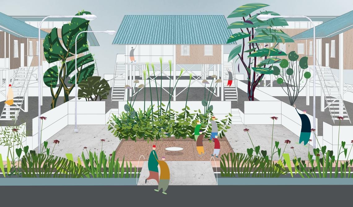 5. The scenario of Guyana: family housing