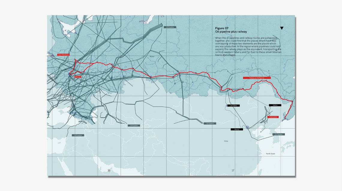 2.4 Oil pipeline plus railway