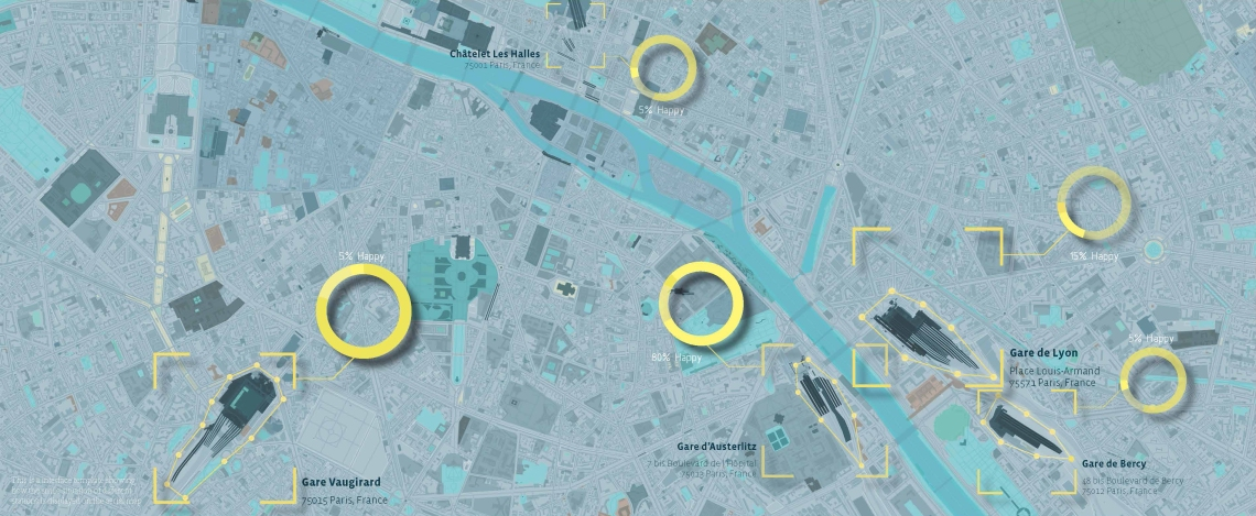 4. Where Ungrumpy Paris is located in the city