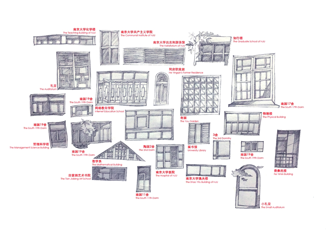 03. We selected the windows that have everyday life